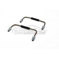 2er Set Verbindungsleitungen 4 Kolben Brembo Bremssattel vorn / Mitsubishi Lancer Evolution *NEU*