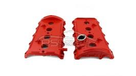 Ventildeckel Zylinderkopfhaube Rot Audi A6 V8 S6 RS6 4B S8 D2 077103476N 077103475N