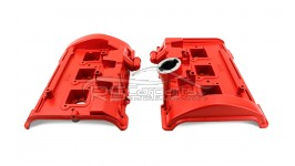 Ventildeckel Zylinderkopfhaube Rot Audi V6 BiTurbo 078103472T 078103471T