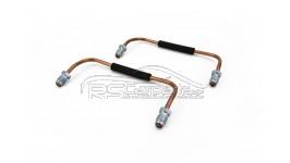 2er Set Verbindungsleitungen 4 Kolben Brembo Bremssattel vorn / Audi RS2 Porsche *NEU*