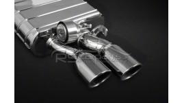 Capristo Endschalldämpfer, Mittelschalldämpfer-ersatzrohre für Audi S6 S7 4G