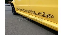 RS Carparts Aufkleber / Sticker 150cm