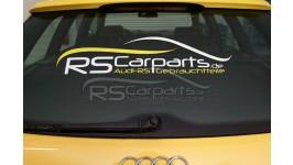 RS Carparts Heckscheibenaufkleber