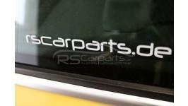 RS Carparts Aufkleber / Sticker 15cm