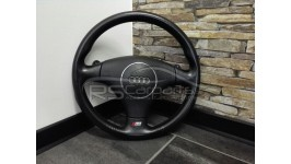 Audi A4 / S4 B6 3-Speichen Leder Lenkrad mit F1 Schaltwippen  8E0419091BM